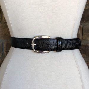 Banana Republic Belt S Leather Women's Black